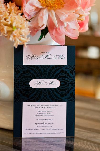 Bridal Shower Invitation_Sarasota Wedding Planning by Keren Lifrak