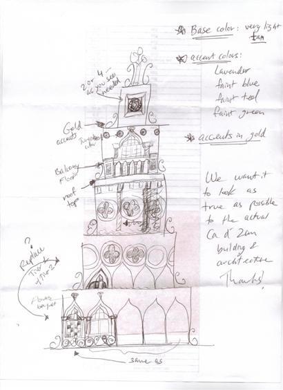 Wedding Cake idea by Keren Lifrak Weddings & Special Events